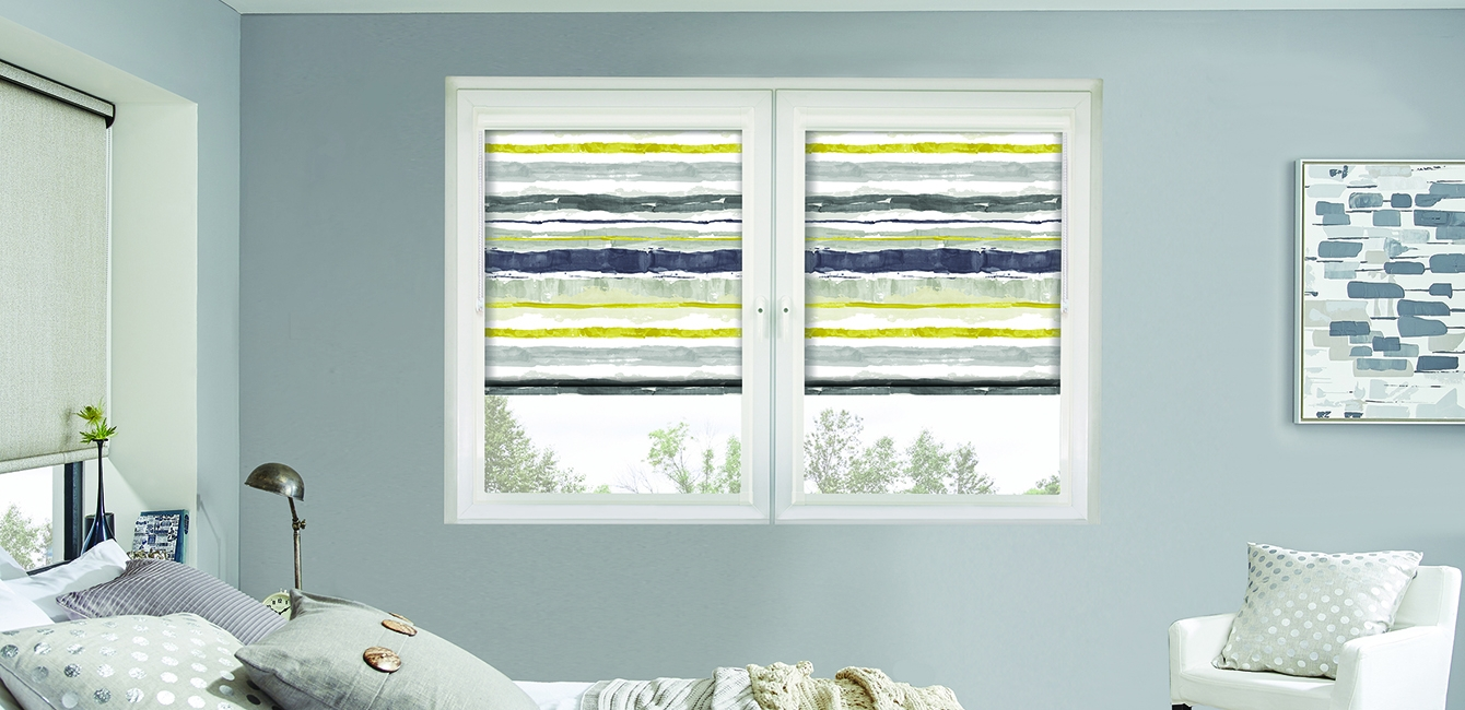 Perfect Fit Roller Blinds in 'Como Ocra'