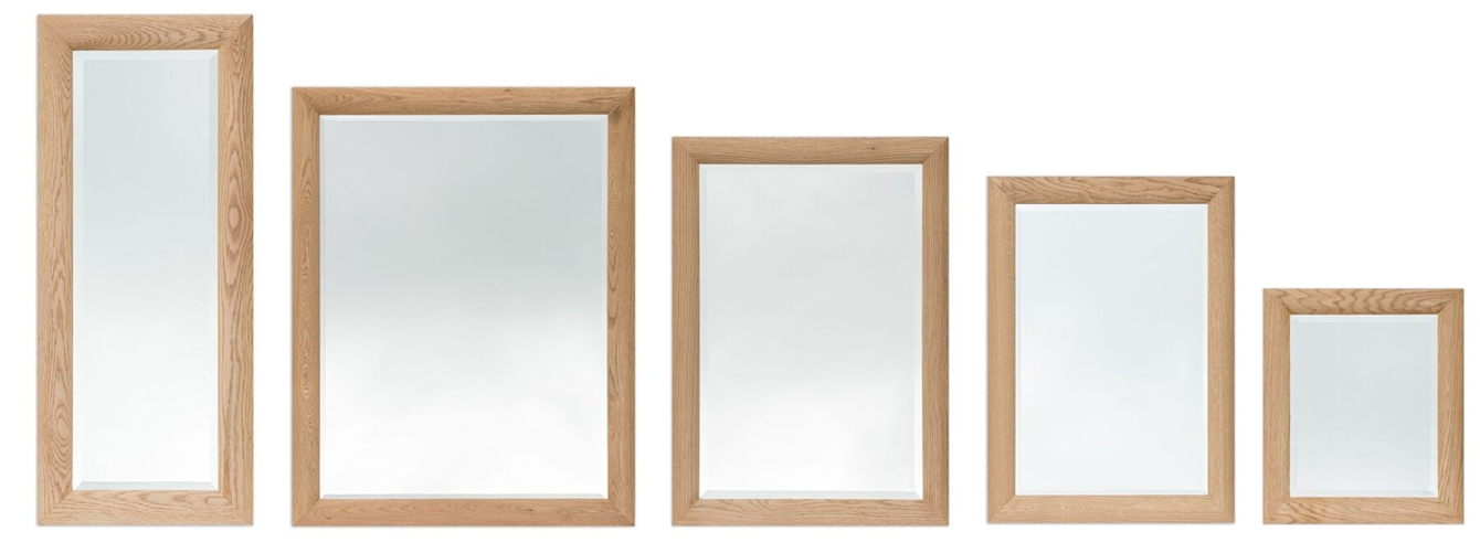 Oak Framed Mirrors