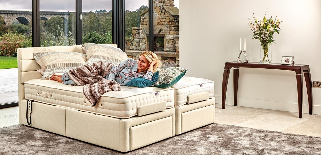 'Dorchester' Head & Foot Adjustable Bed