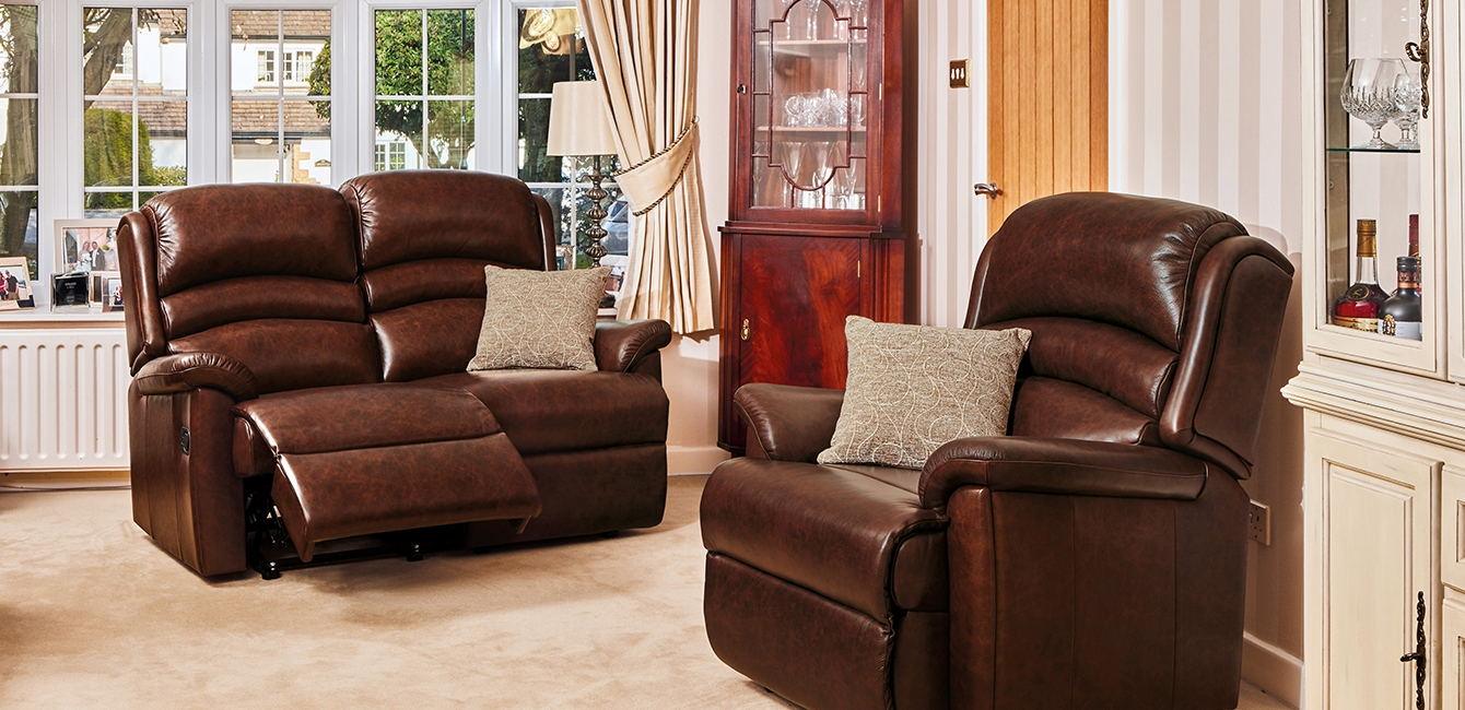 Olivia Reclining Two Seater & Armchair