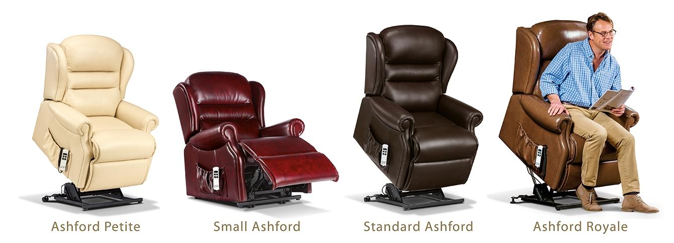 Ashford Leather Rise & Recline Armchairs