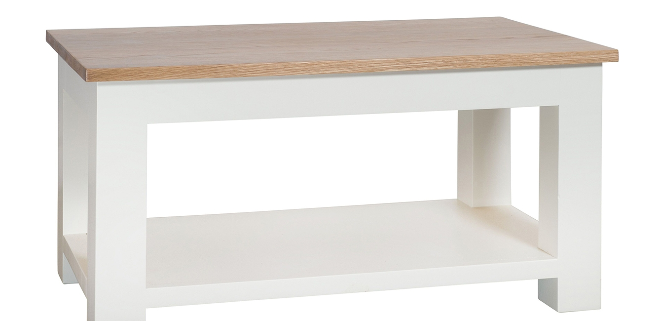 Oak Coffee Table in Painted Finish