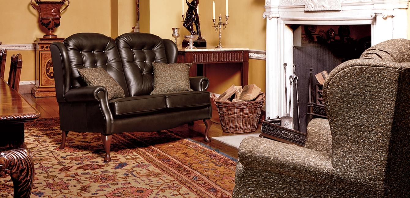 Lynton Fireside 2 Seater & Armchair