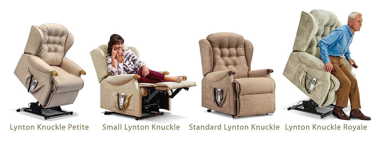 Lynton Knuckle Rise & Recline Armchair
