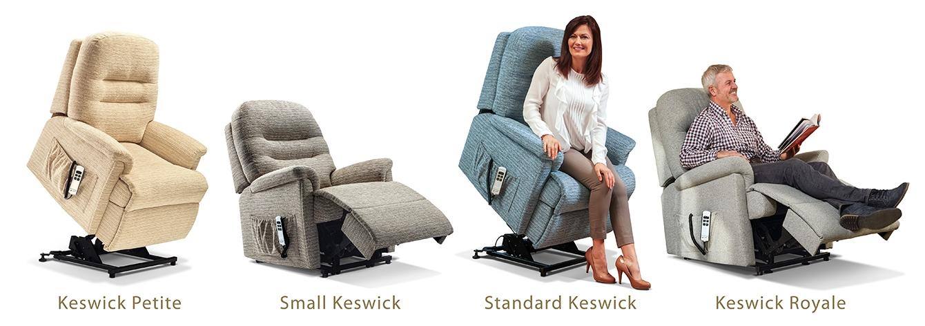 Keswick Fabric Rise & Recline Armchair
